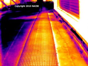 Commercial flat roof infrared inspection 4