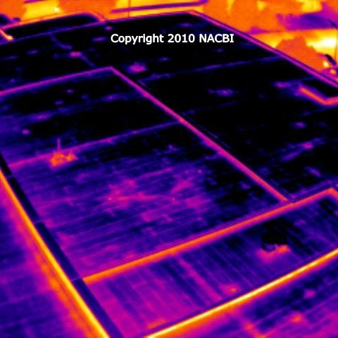 Commercial flat roof infrared inspection 3