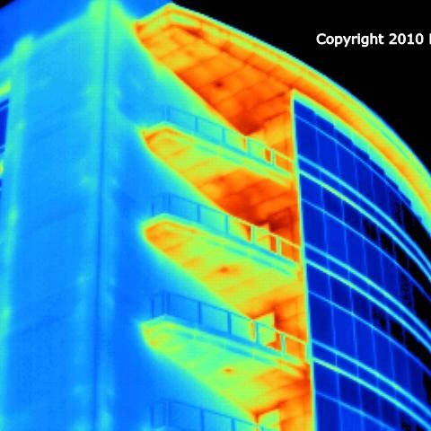Infrared Commercial Building Inspection